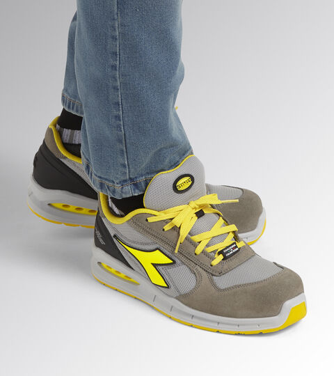 Footwear Utility UNISEX RUN NET AIRBOX LOW S1P SRC WIND GRAY/ALUMINUM Utility