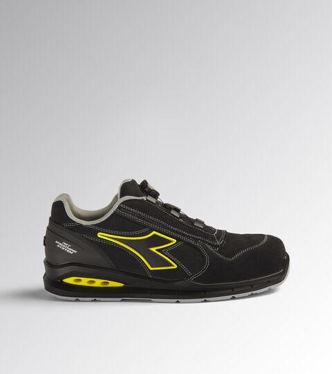 Footwear Utility UNISEX RUN NET AIRBOX QUICK LOW S3 SRC BLACK /BLACK Utility