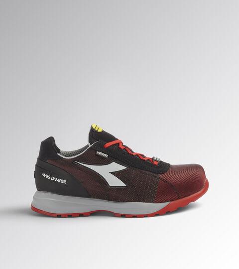 Footwear Utility UNISEX GLOVE MDS MATRYX LOW S1P HRO SRC POPPY RED/GRAY Utility
