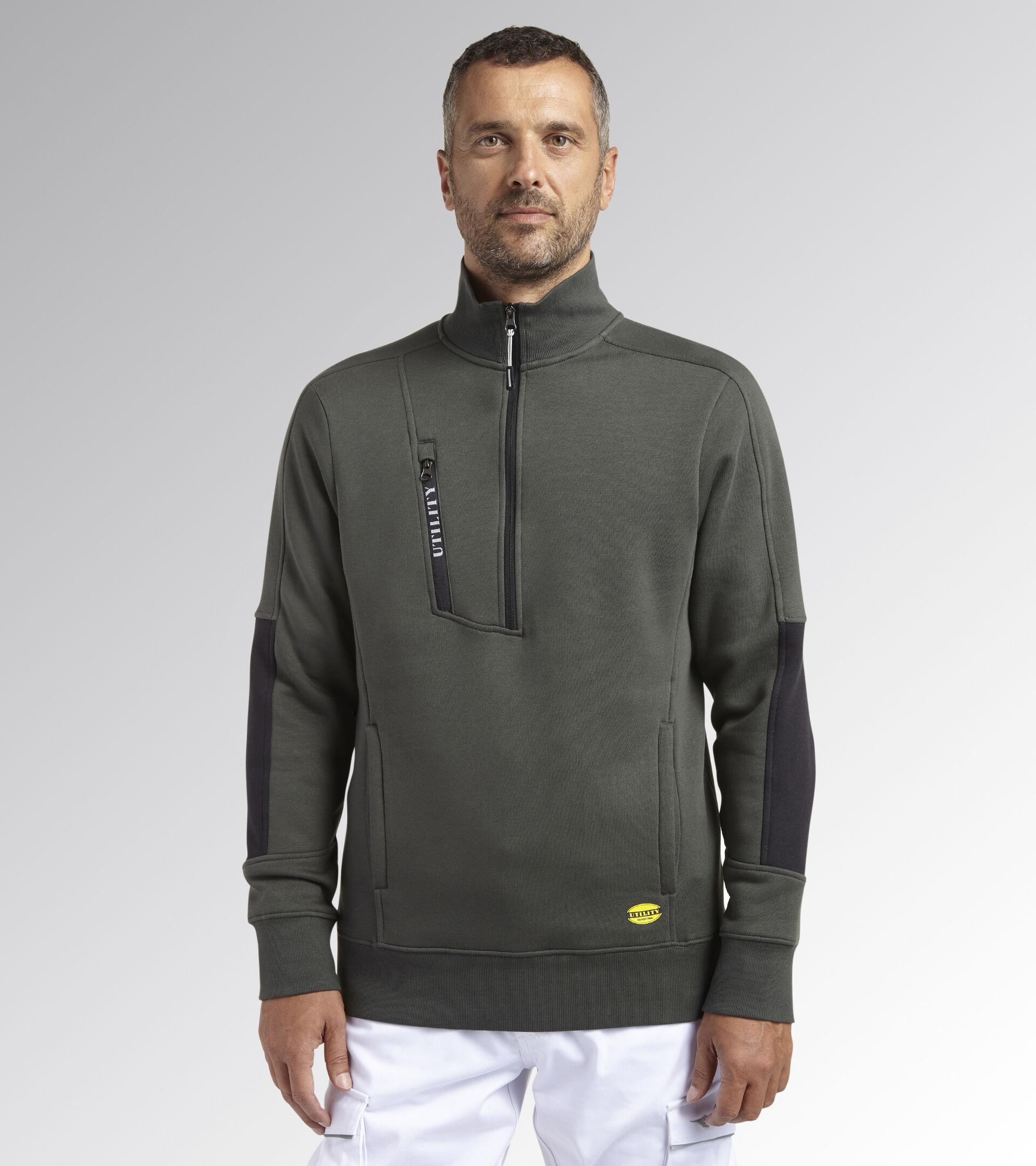 Work track jacket SWEATSHIRT HZ LITEWORK GREEN THYME - Utility