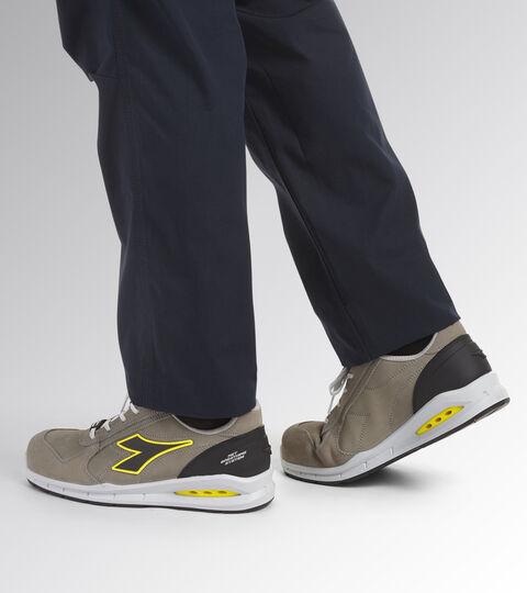 Footwear Utility UNISEX RUN NET AIRBOX LOW S3 SRC WIND GRAY/WIND GRAY Utility
