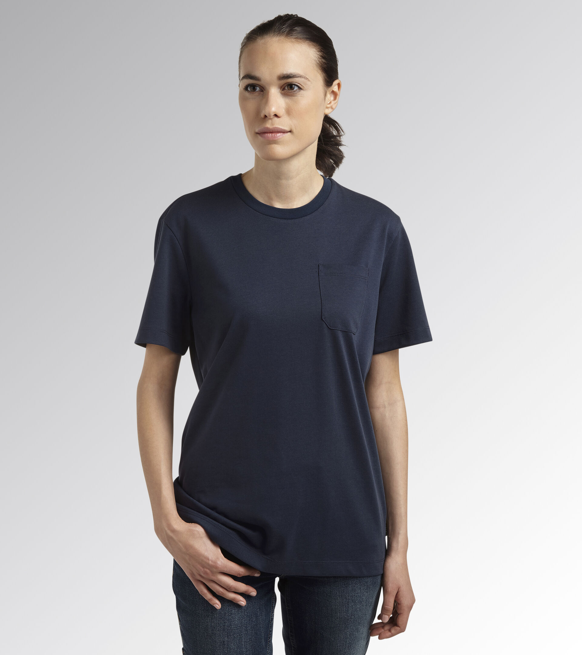 Apparel Utility UOMO T-SHIRT INDUSTRY CLASSIC NAVY Utility