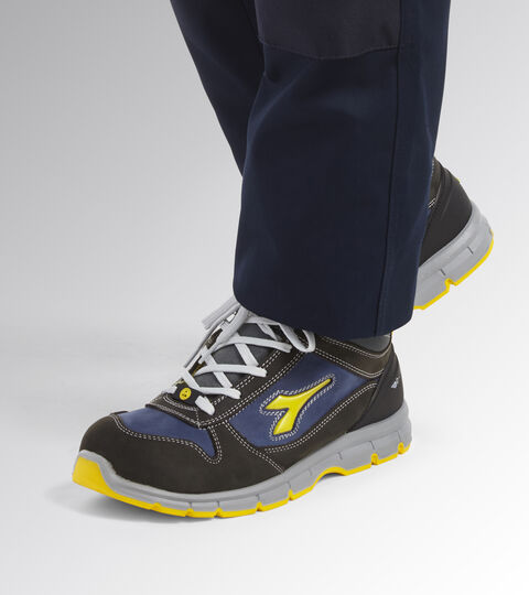 Footwear Utility UNISEX RUN MID S3 SRC ESD CASTLE ROCK/INSIGNIA BLUE Utility