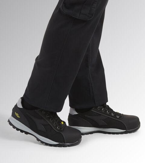 Footwear Utility UNISEX GLOVE NET LOW PRO S1P HRO SRA ESD BLACK Utility