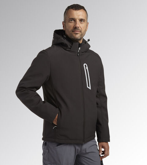 Work jacket PADDED SOFTSHELL SAIL ASPHALT - Utility