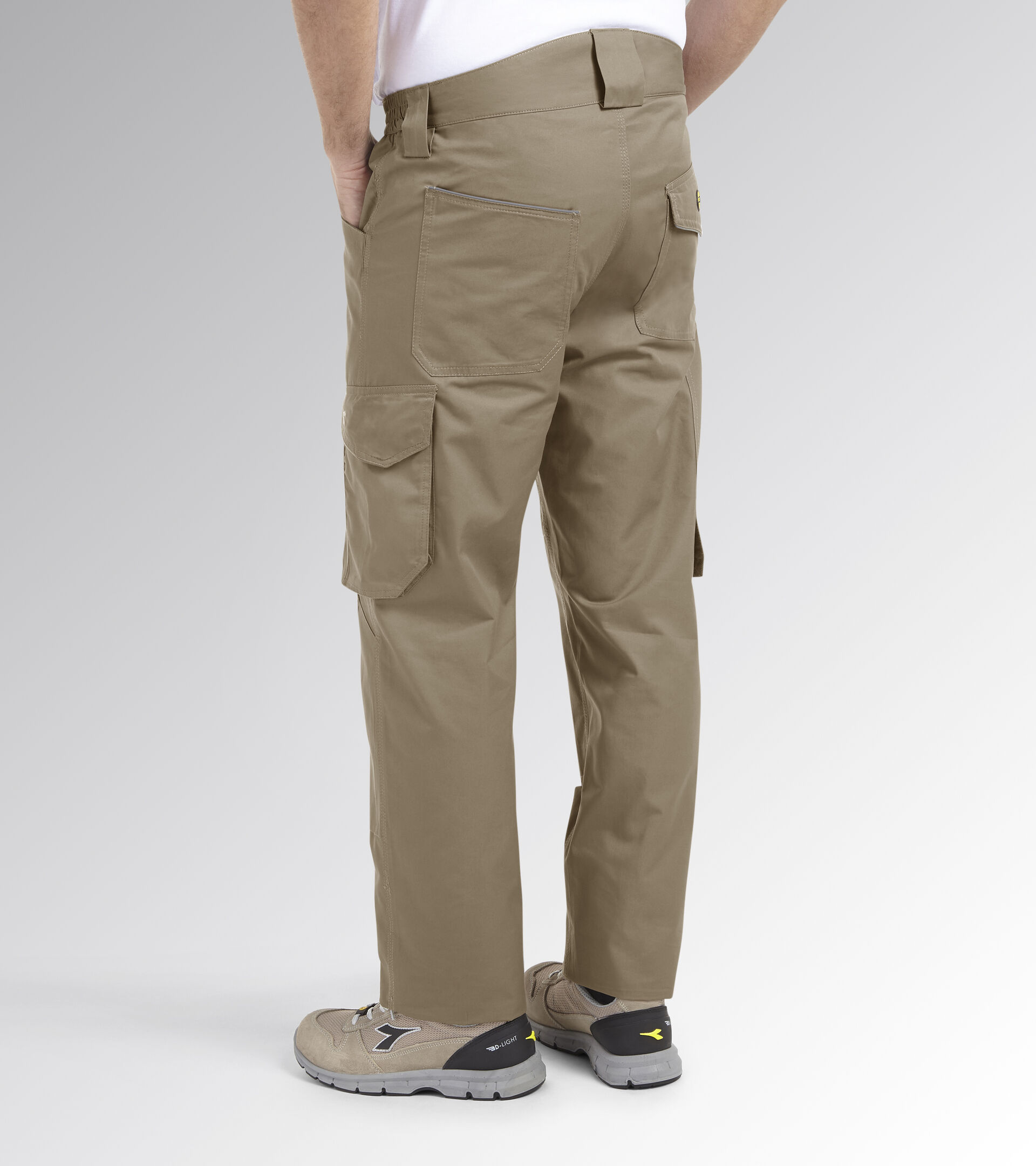 Apparel Utility UOMO PANT ROCK LIGHT PERF COTTON BEIGE NATURAL Utility