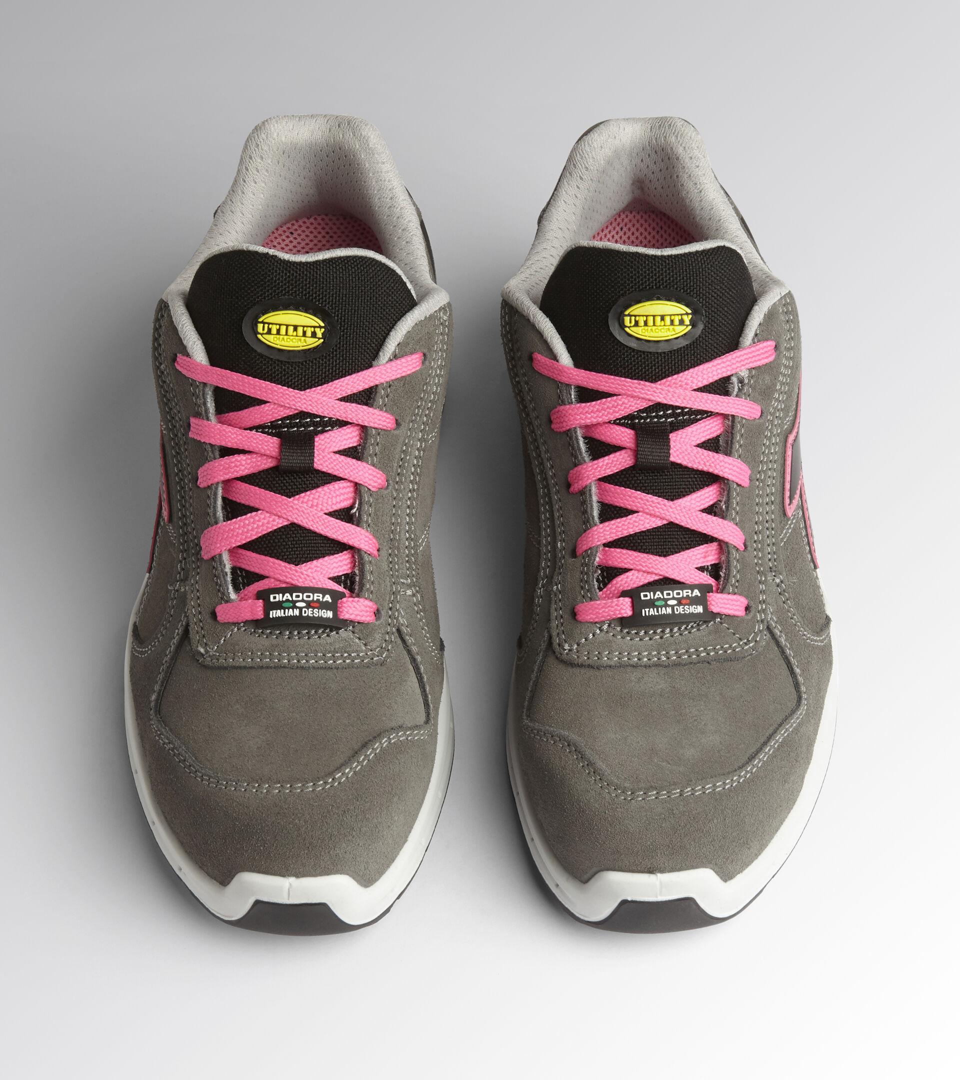 Footwear Utility UNISEX RUN NET AIRBOX LOW S3 SRC SMOKE/SMOKE Utility