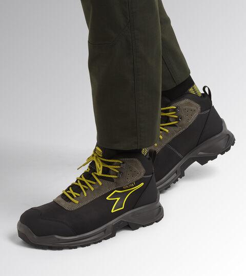 Footwear Utility UNISEX SPORT DIATEX MID S3 WR CI SRC BLACK/STEEL GRAY Utility