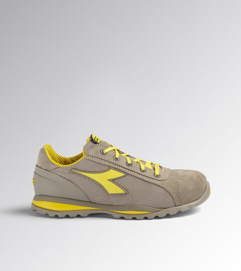 Footwear Utility UNISEX GLOVE TEXT LOW S1P HRO SRA MOON ROCK GREY Utility