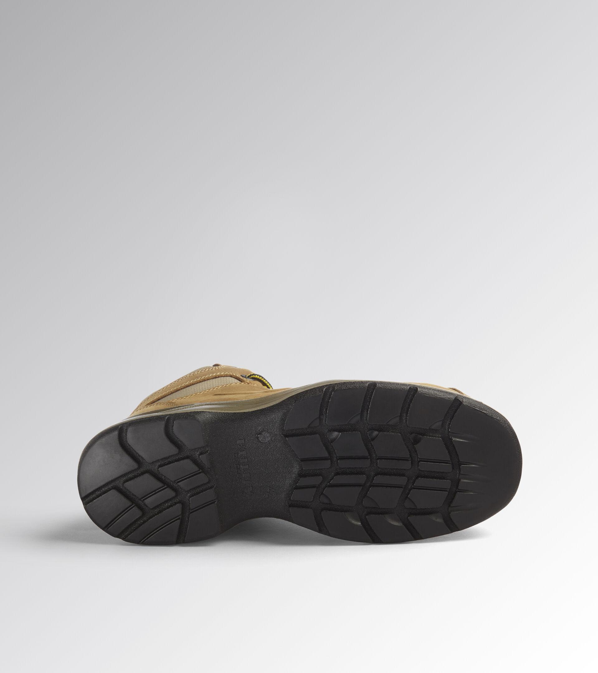 Footwear Utility UNISEX FLOW MID S3 SRC DARK BROWN (30050) Utility