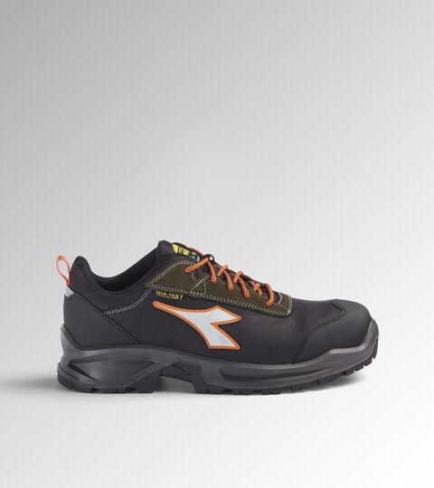 Footwear Utility UNISEX SPORT DIATEX LOW S3 WR CI SRC BLACK/GREEN RAGE Utility