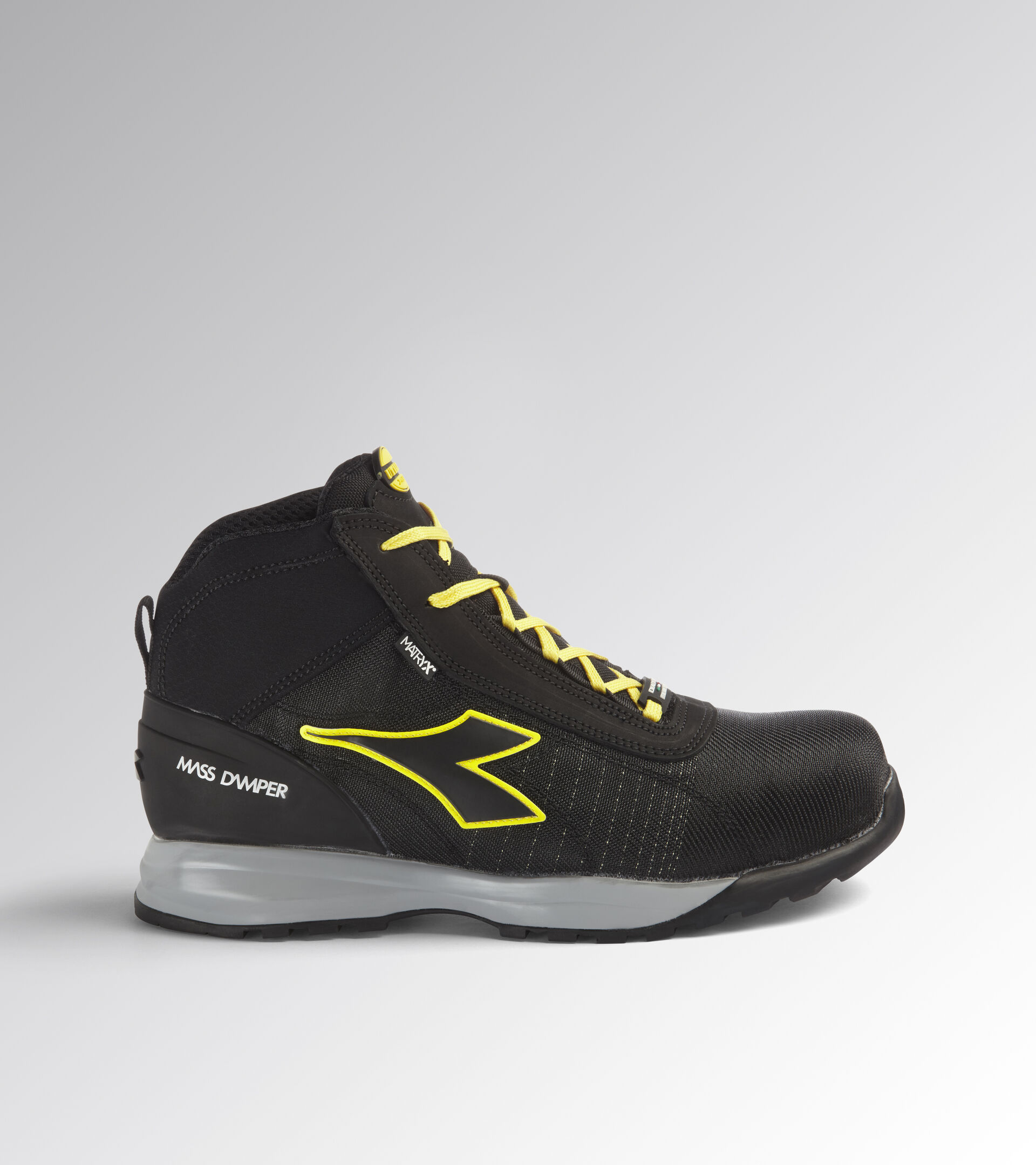 Footwear Utility UNISEX GLOVE MDS MATRYX MID S3 HRO SRC BLACK /BLACK Utility