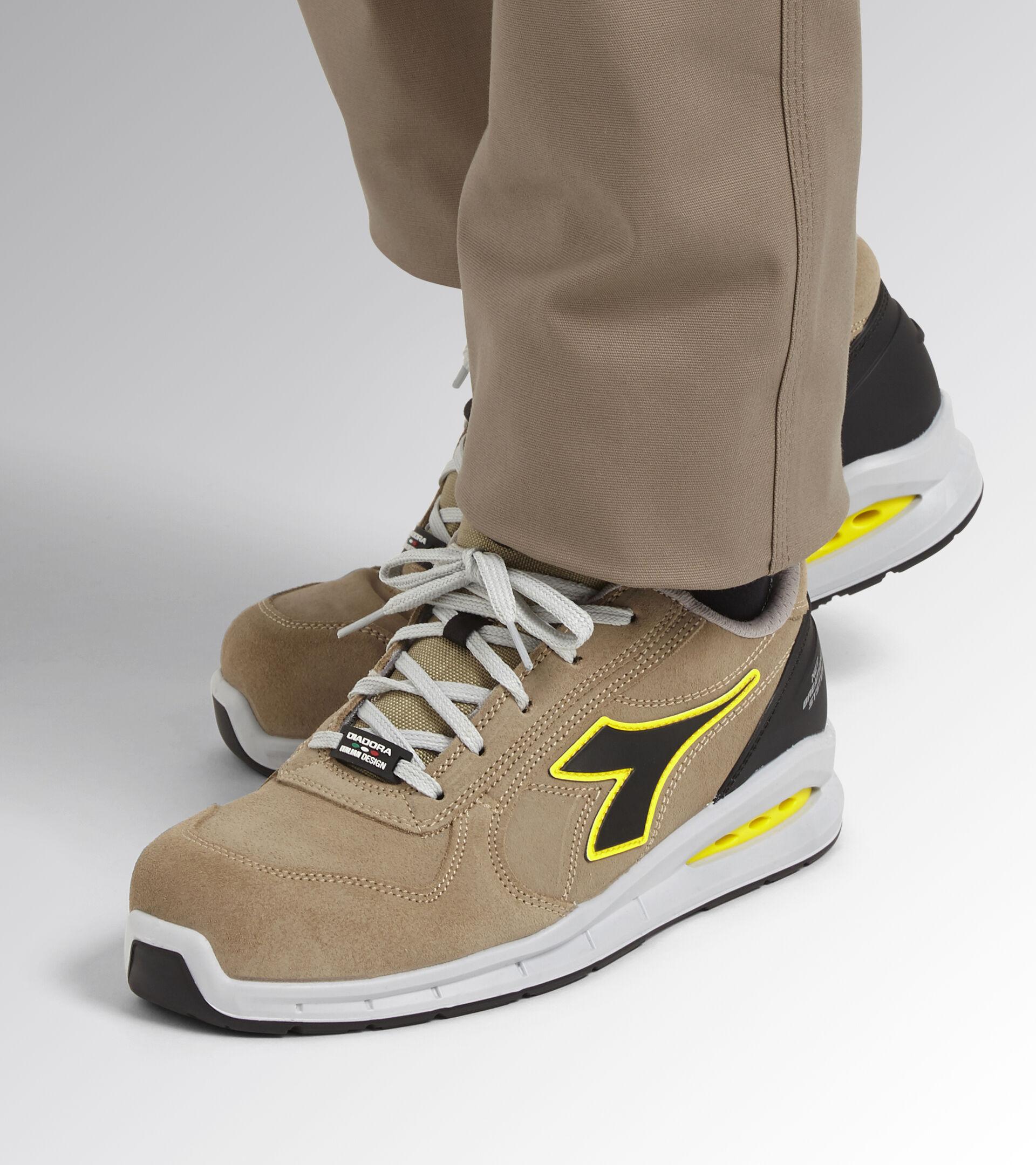 Footwear Utility UNISEX RUN NET AIRBOX LOW S3 SRC MOON ROCK GRAY/MOON ROCK GRAY Utility