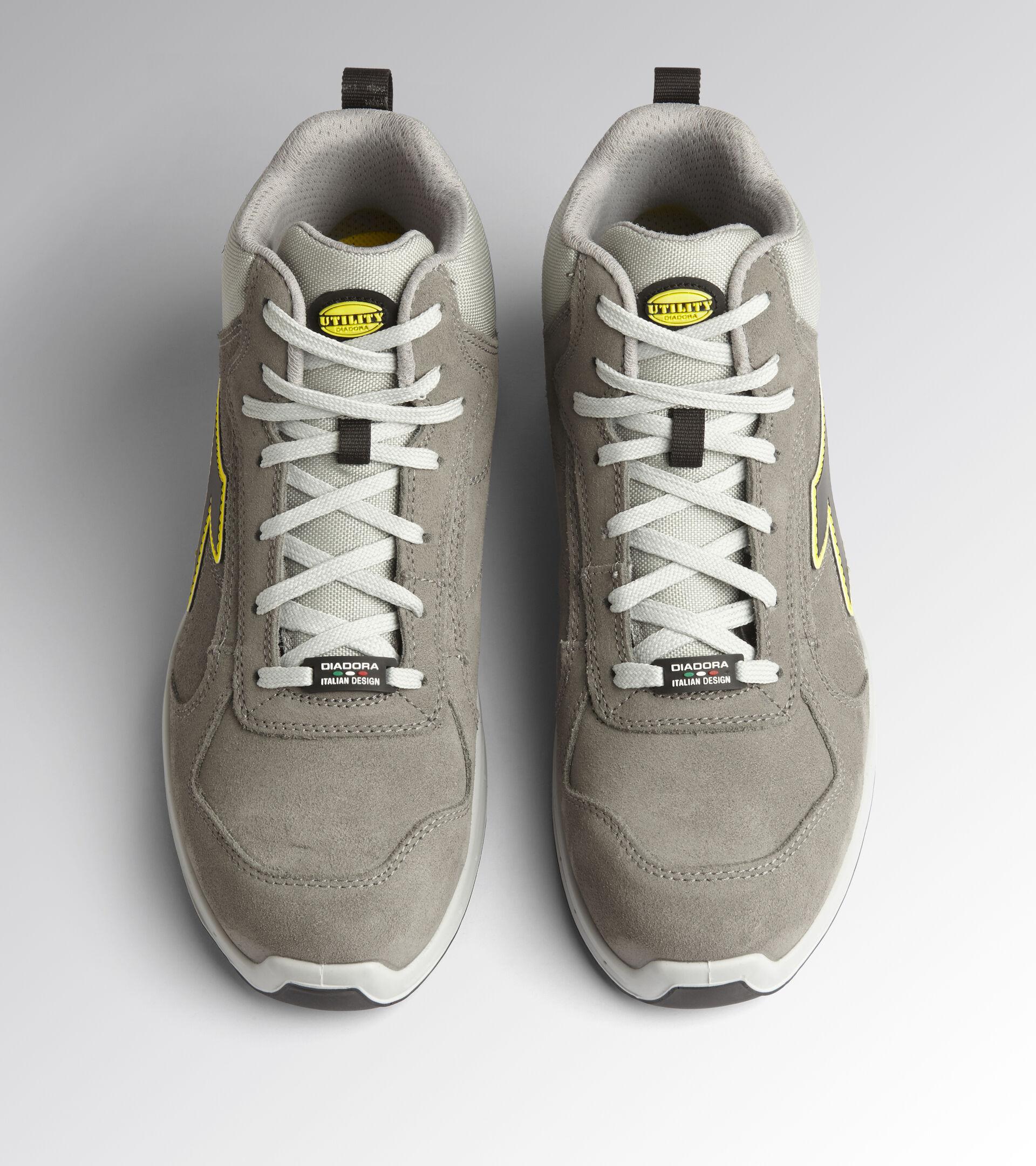 Footwear Utility UNISEX RUN NET AIRBOX MID S3 SRC WIND GRAY/WIND GRAY Utility