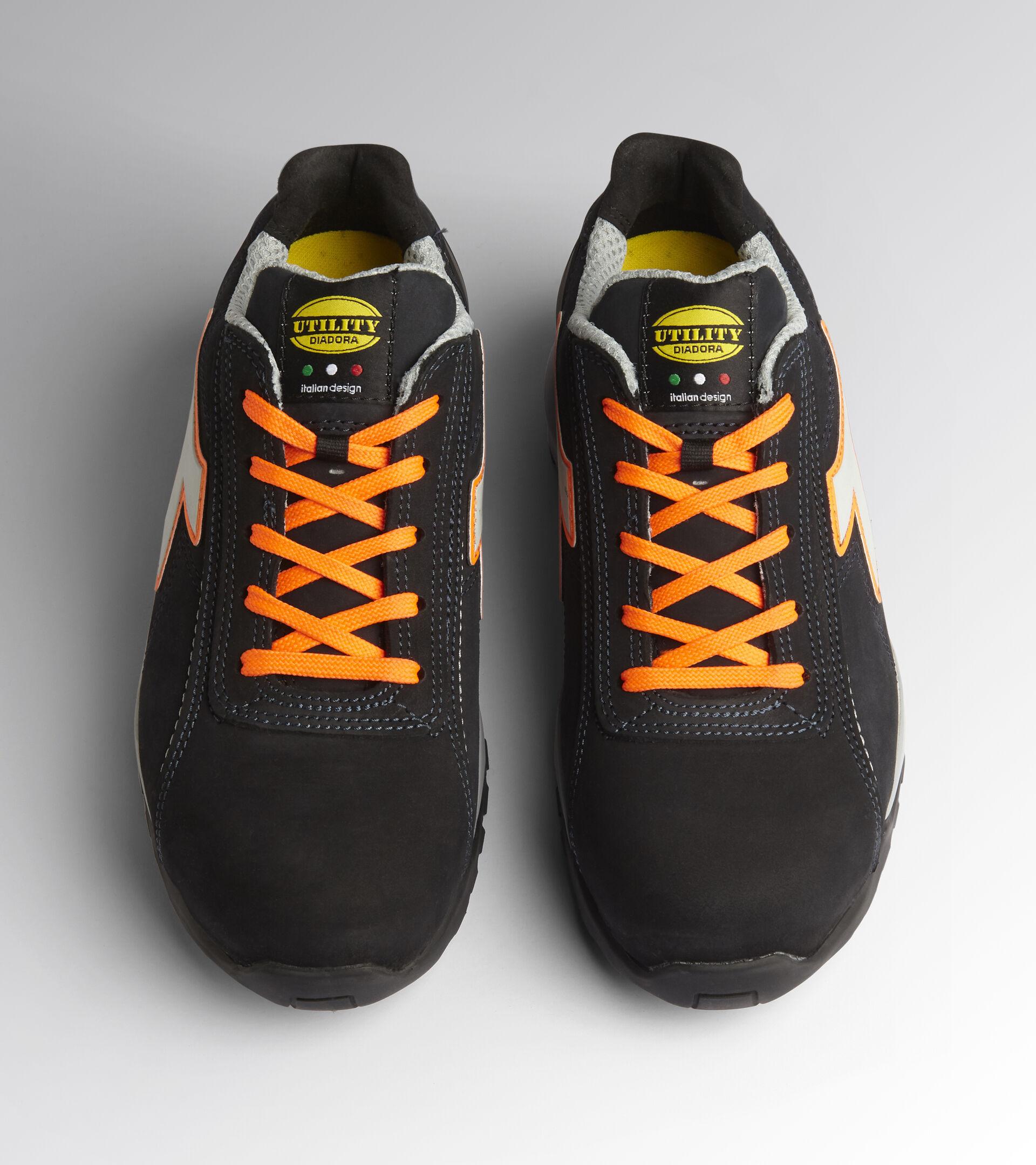 Footwear Utility UNISEX GLOVE MDS LOW S3 HRO SRC DARK NAVY/ORANGE FLUO Utility