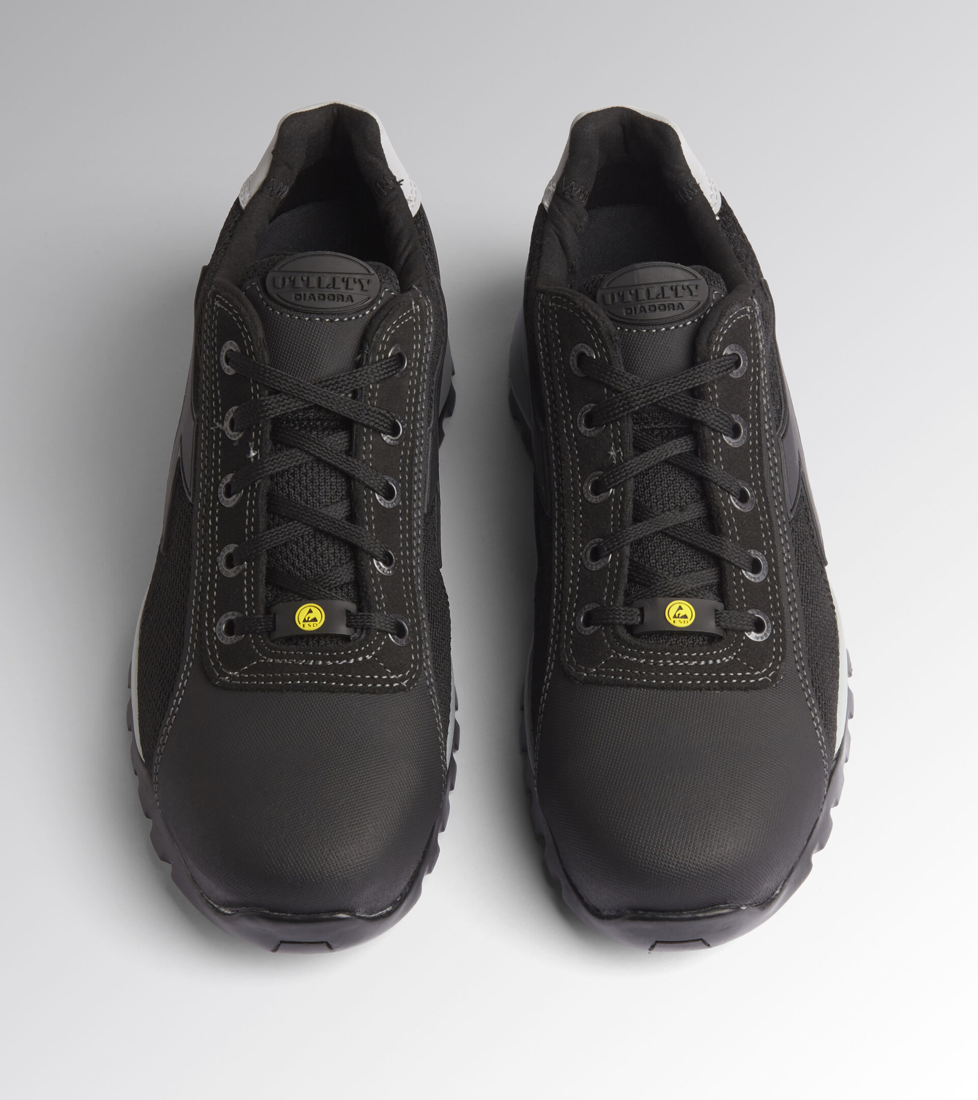 Footwear Utility UNISEX GLOVE NET LOW PRO S1P HRO SRA ESD SCHWARZ Utility