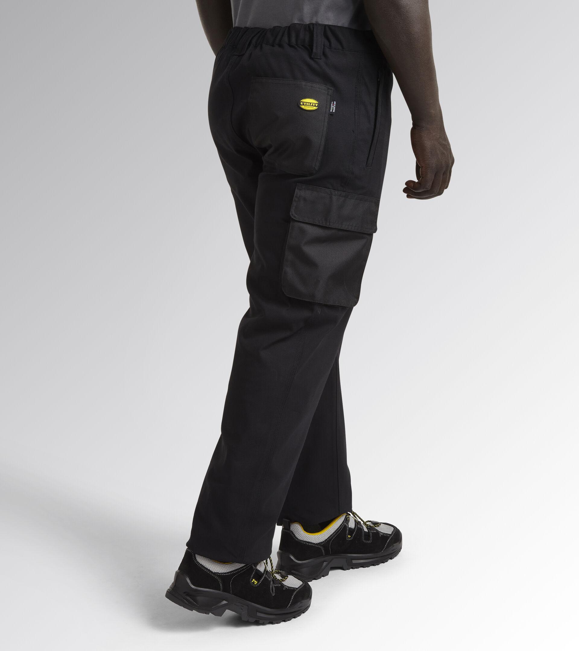 Apparel Utility UOMO PANT STRETCH CARGO BLACK Utility