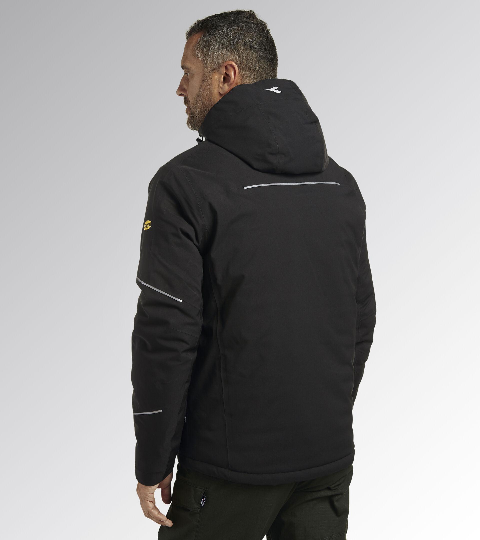 Work jacket PADDED JACKET CROSS BLACK - Utility