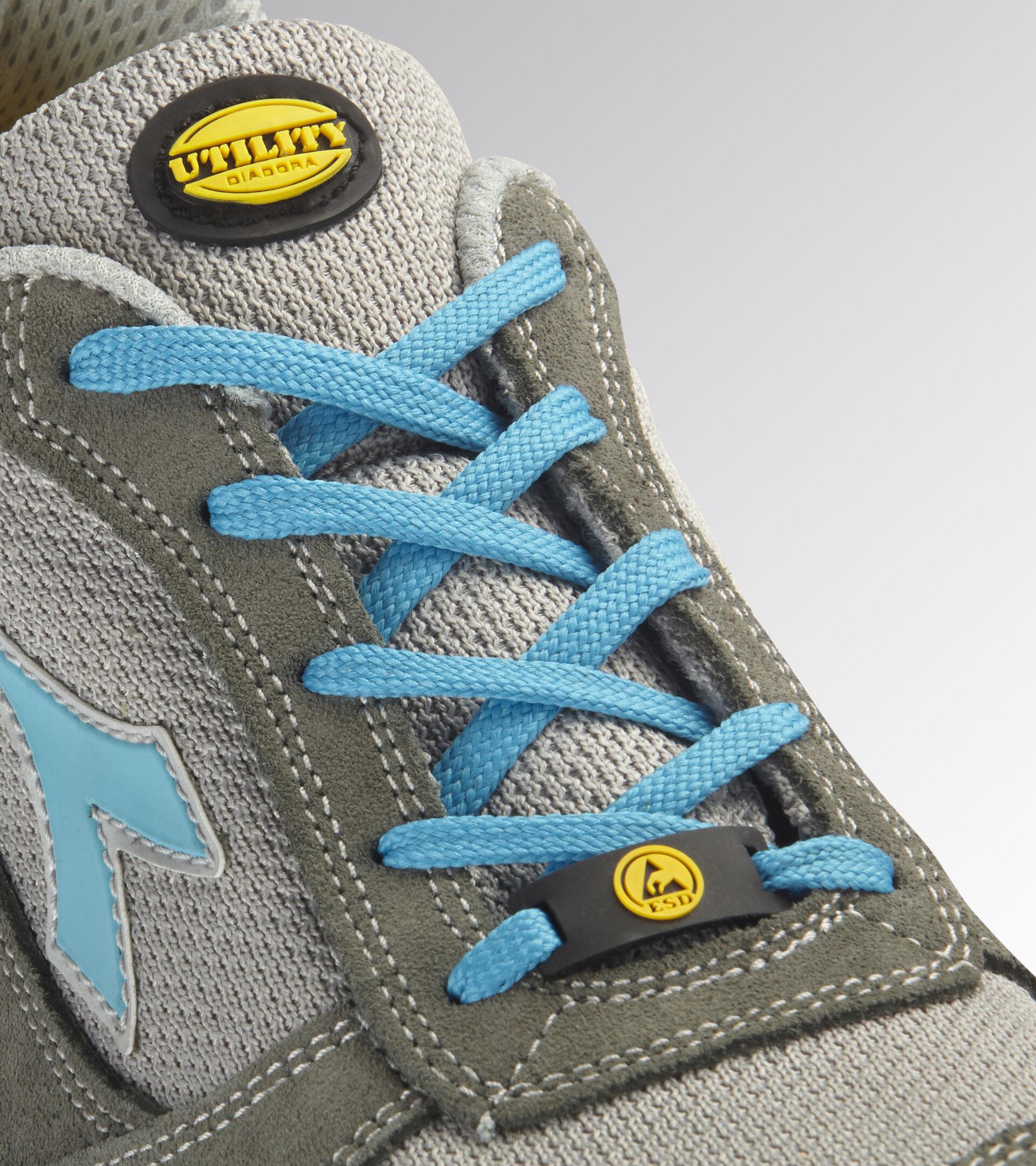 Footwear Utility UNISEX RUN TEXT LOW S1P SRC ESD CASTLEROCK/SCUBA BLUE Utility
