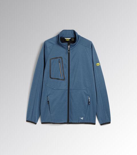 Work jacket BONDED JACKET CROSS MOROCCAN BLUE MELANGE - Utility
