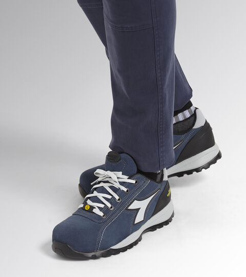 Footwear Utility UNISEX GLOVE NET LOW S3 HRO SRA ESD BLUE COSMOS Utility