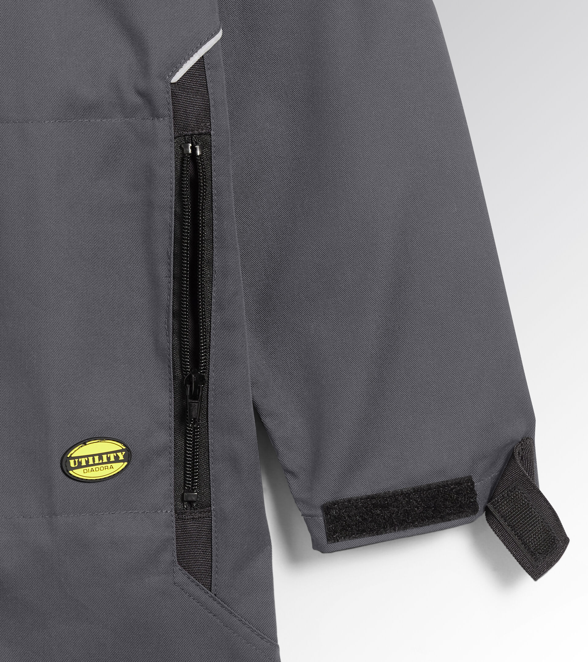 Apparel Utility UOMO COVERALL POLY STEEL GRAY Utility