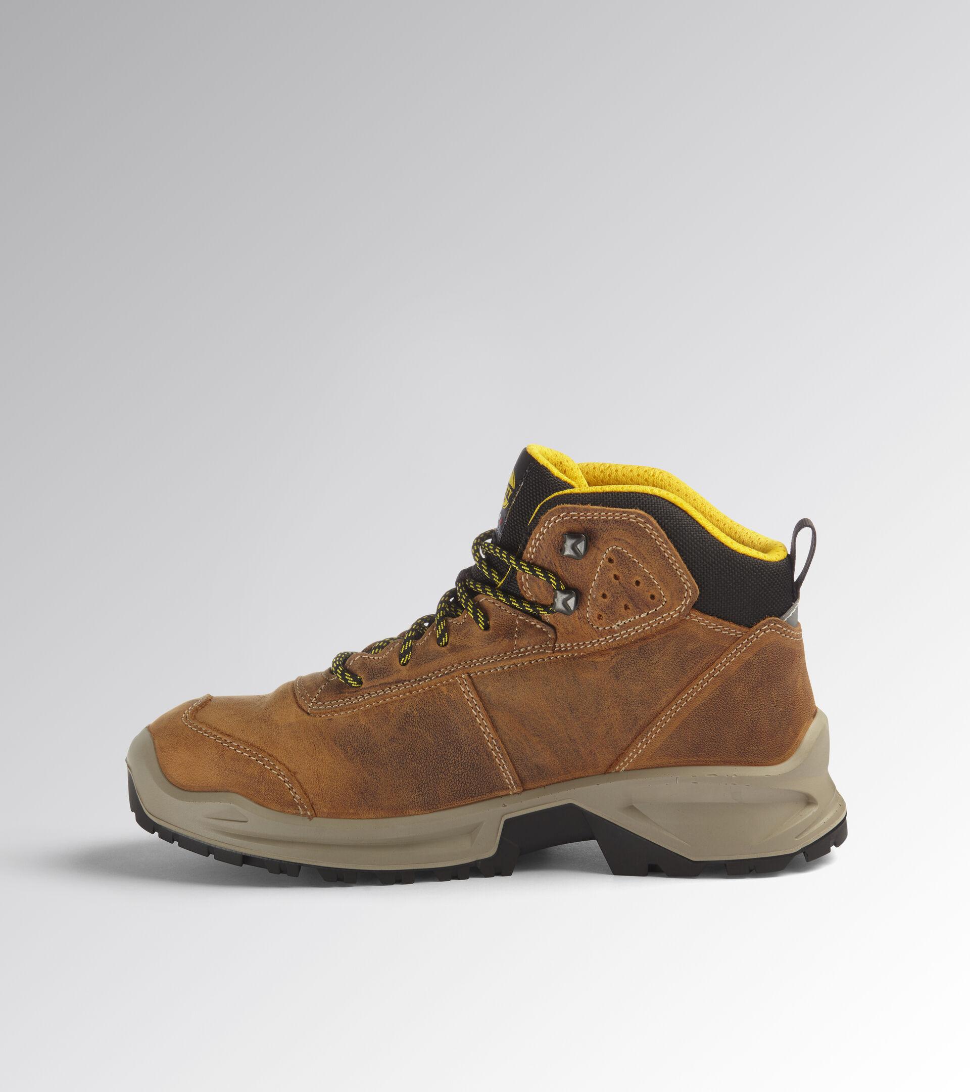 Footwear Utility UNISEX COUNTRY MID S3 SRC DARK BROWN (30050) Utility