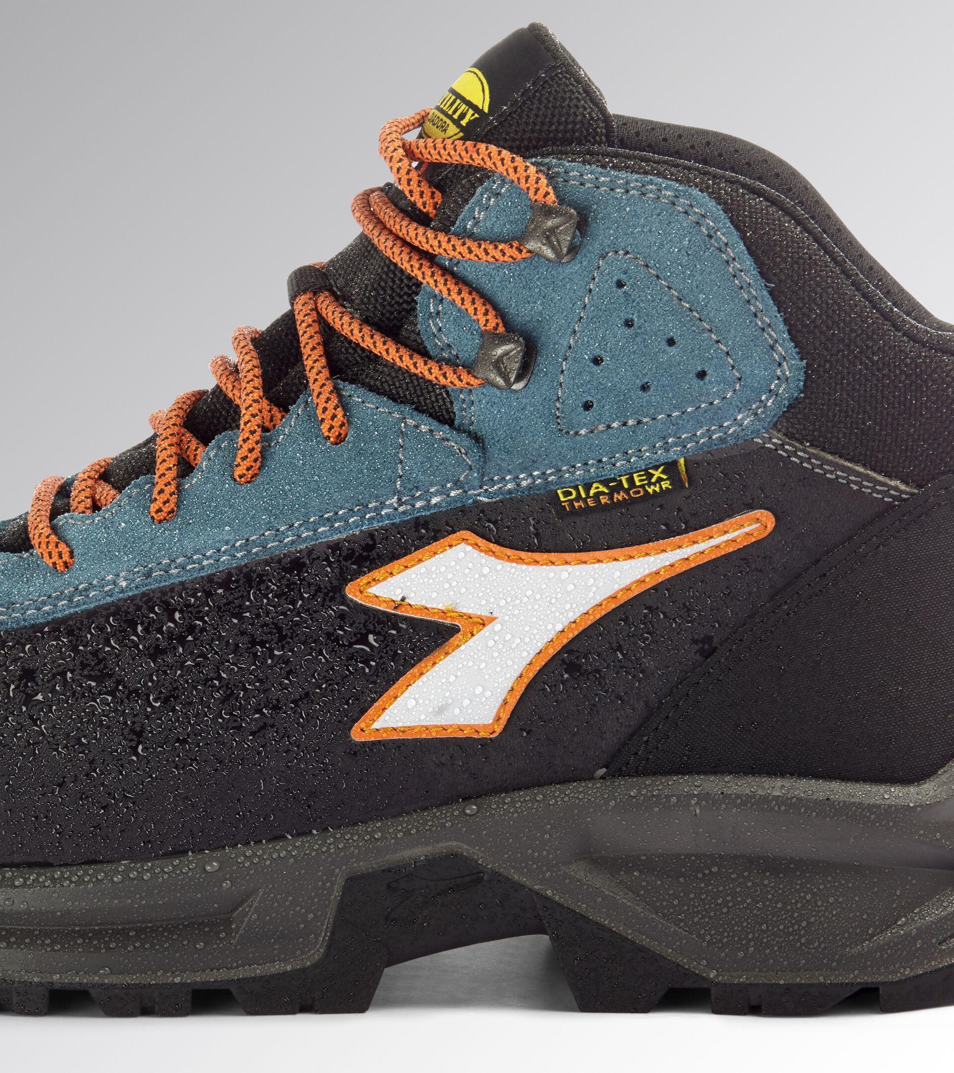 Footwear Utility UNISEX SPORT DIATEX MID S3 WR CI SRC CASTLE ROCK/BLUE MOON Utility