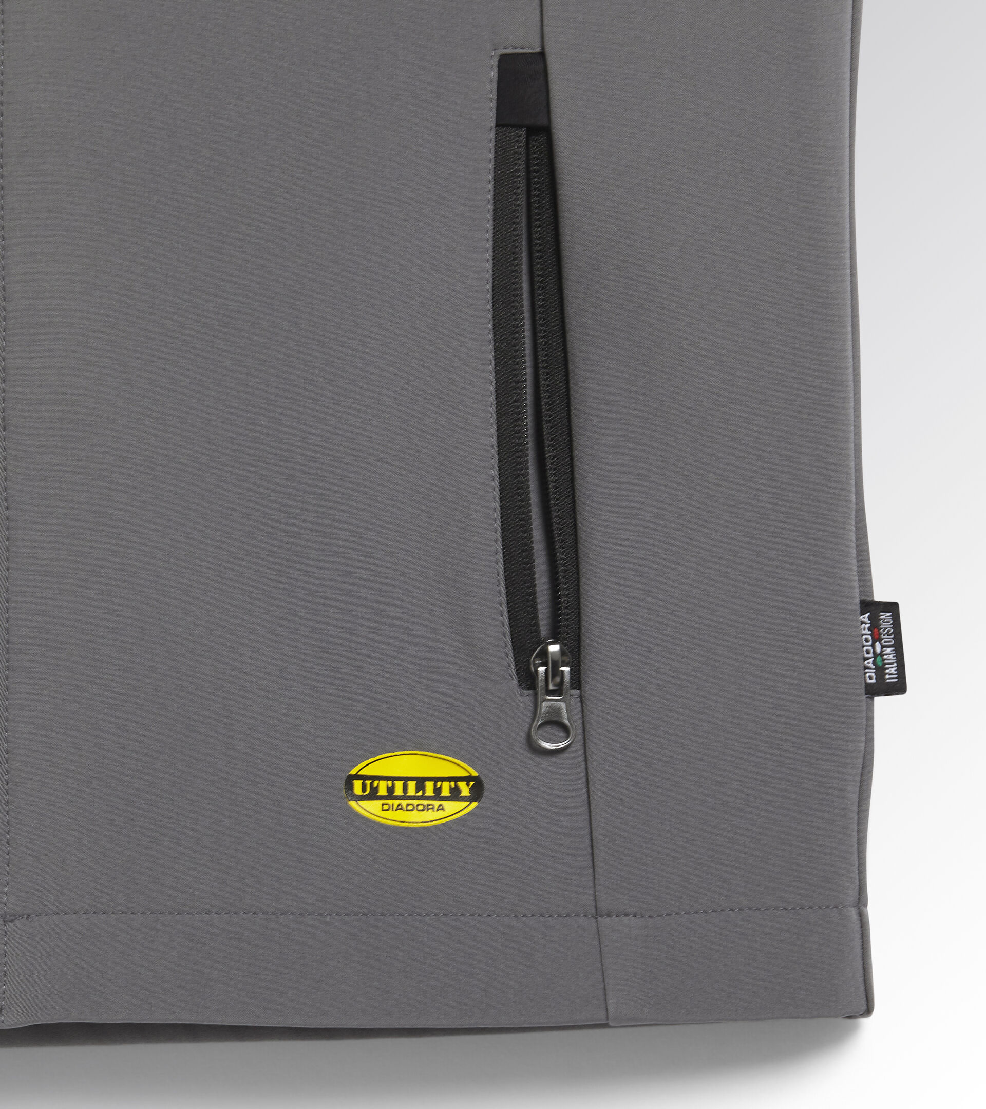 Apparel Utility UOMO SHELL VEST LEVEL STEEL GRAY Utility