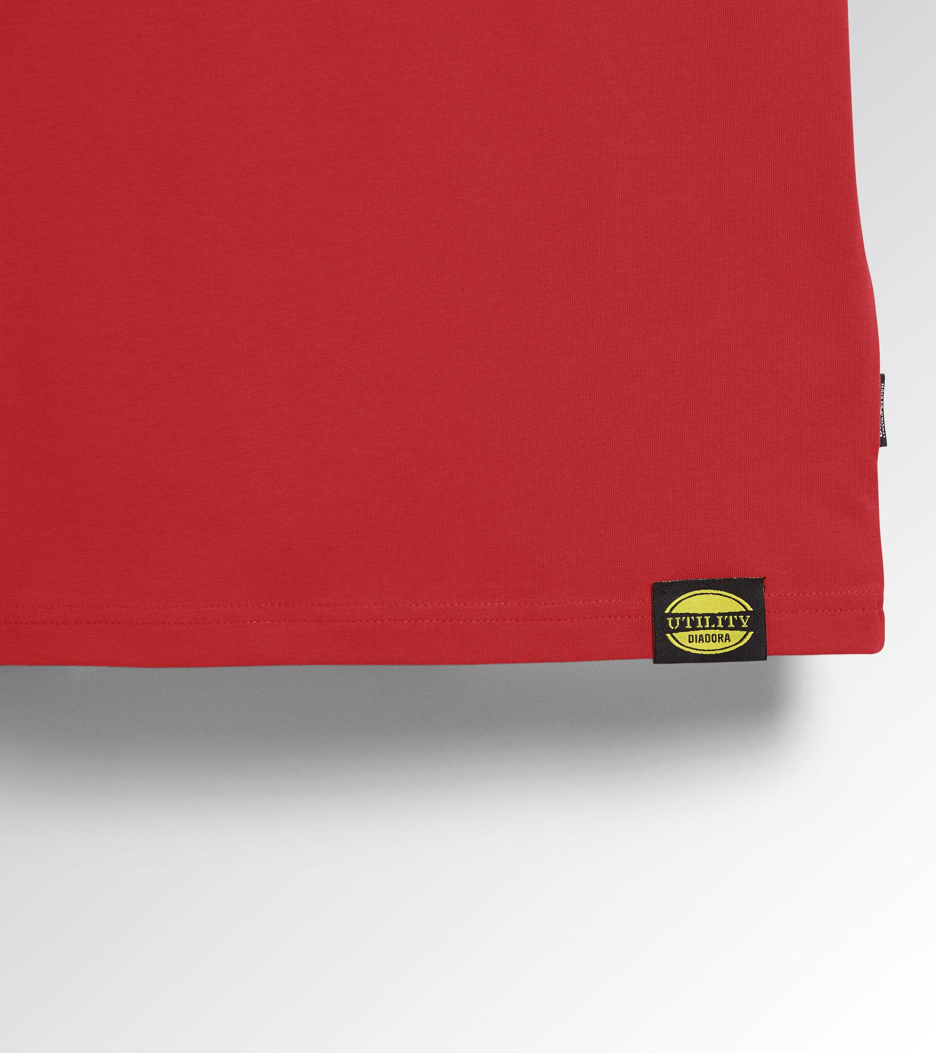 Apparel Utility UOMO T-SHIRT MC ATONY ORGANIC TRUE RED Utility