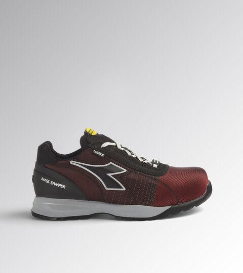 Footwear Utility UNISEX GLOVE MDS MATRYX LOW S3 HRO SRC FLAME RED/BLACK Utility