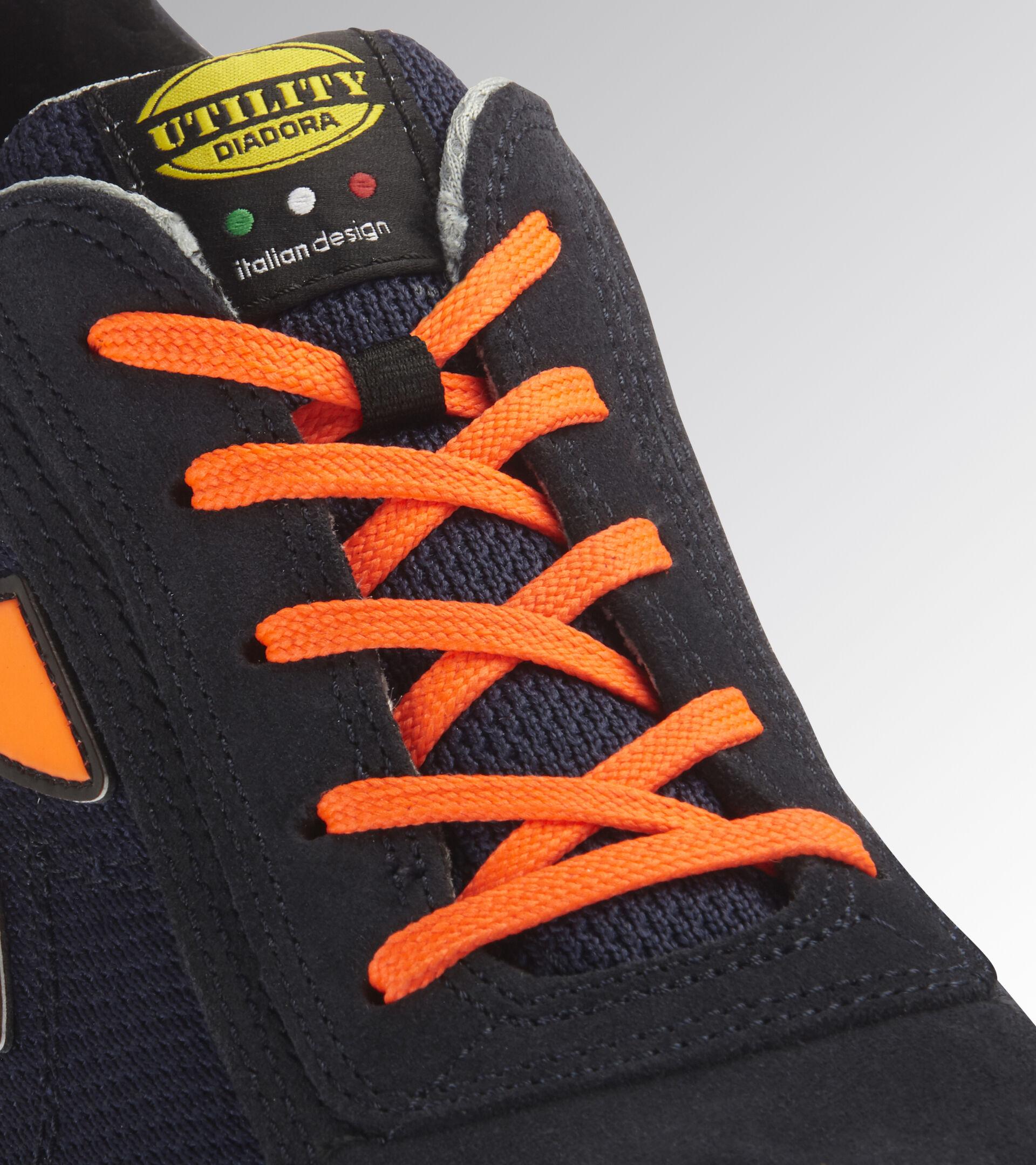 Footwear Utility UNISEX GLOVE MDS TEXT LOW S1P HRO SRC DARK NAVY/ORANGE FLUO Utility