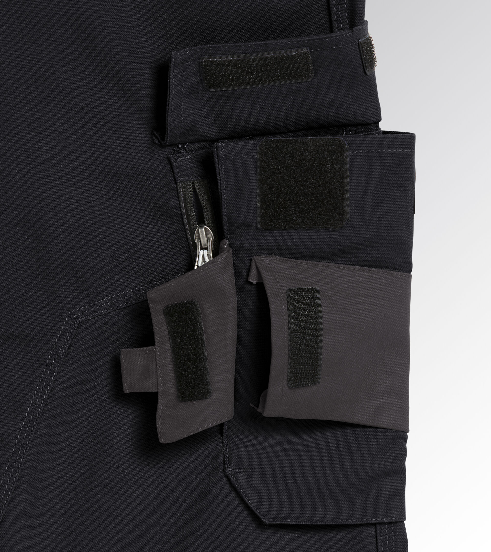 Apparel Utility UOMO PANT TOP PERFORMANCE BLACK Utility