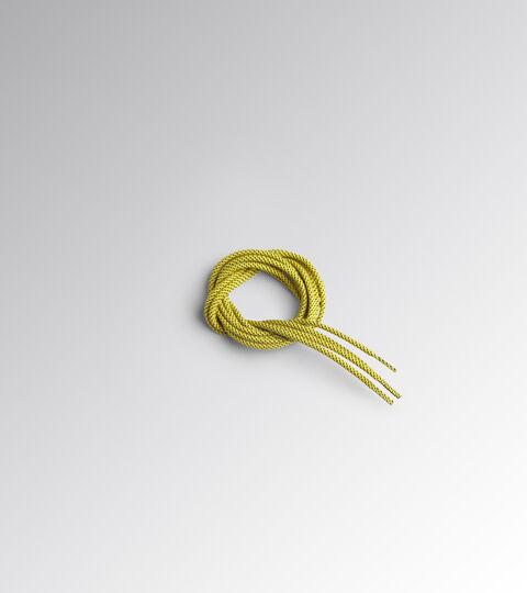 Accessories Utility UOMO LACCI0 TONDO PUNTINATO TERMO 110 CM CYBER YELLOW/BLACK Utility