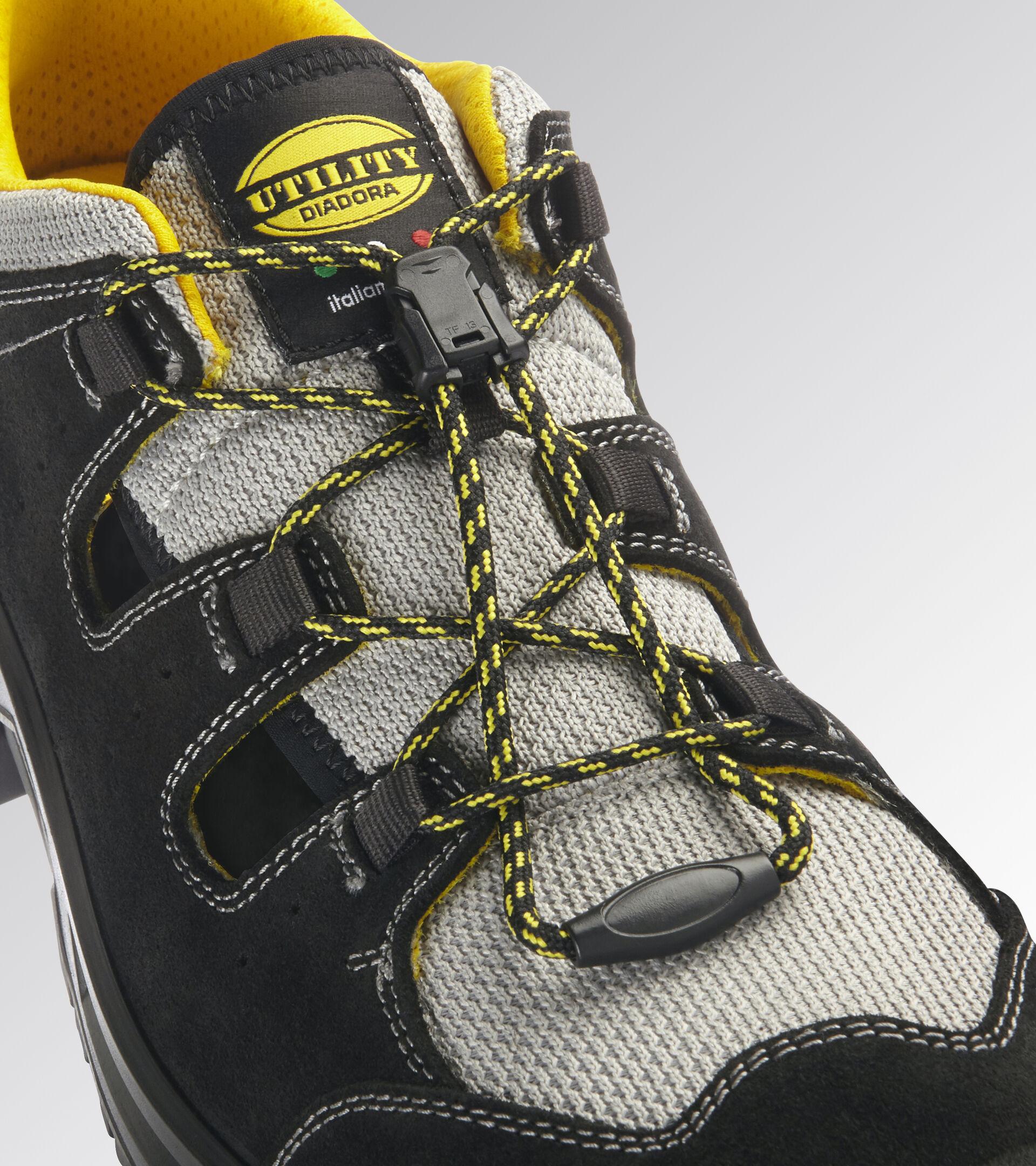 Footwear Utility UNISEX COUNTRY SANDAL S1P SRC BLACK Utility