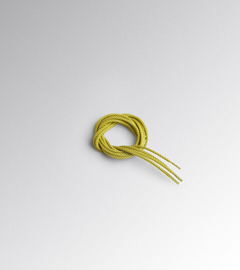 Accessories Utility UNISEX LACCIO TONDO PUNTINATO TERMO 170 CM CYBER YELLOW/BLACK Utility