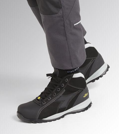 Footwear Utility UNISEX GLOVE NET MID PRO S3 HRO SRA ESD BLACK Utility