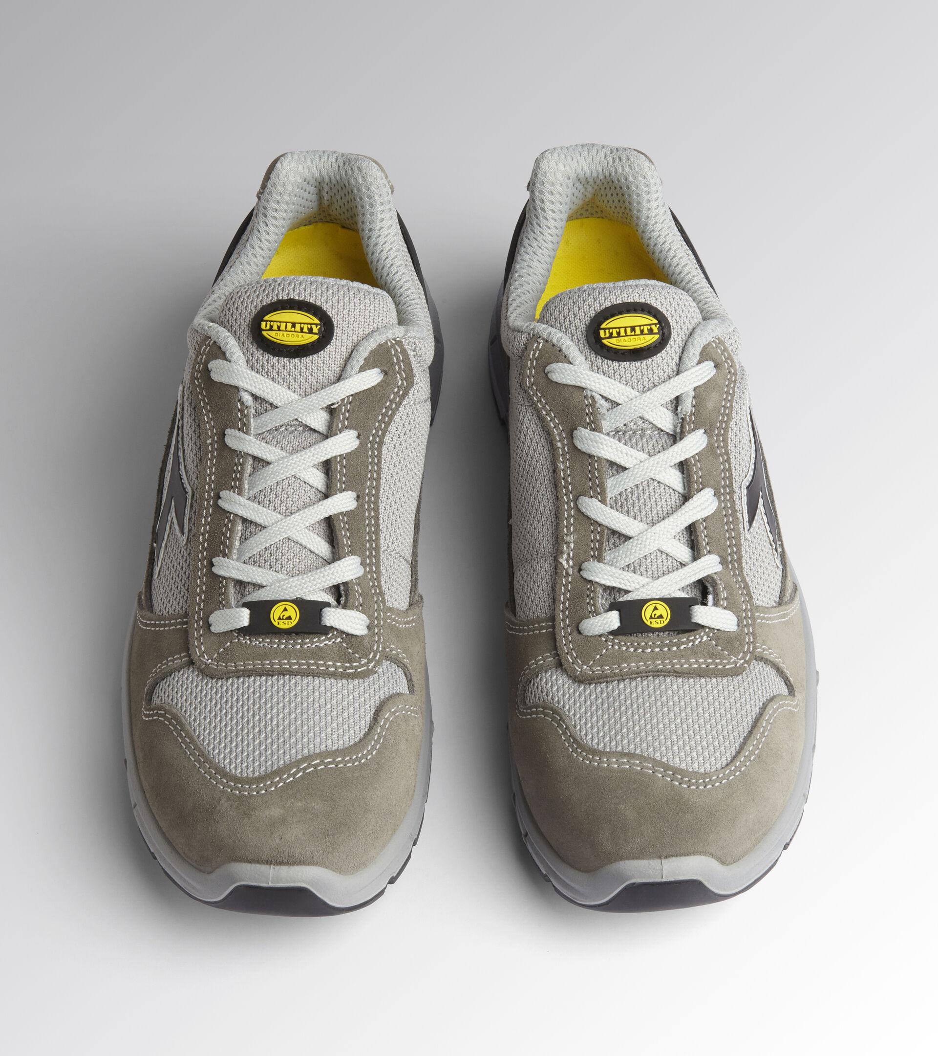 Footwear Utility UNISEX RUN TEXT LOW S1P SRC ESD CASTLE ROCK /ALLUMINIUM Utility
