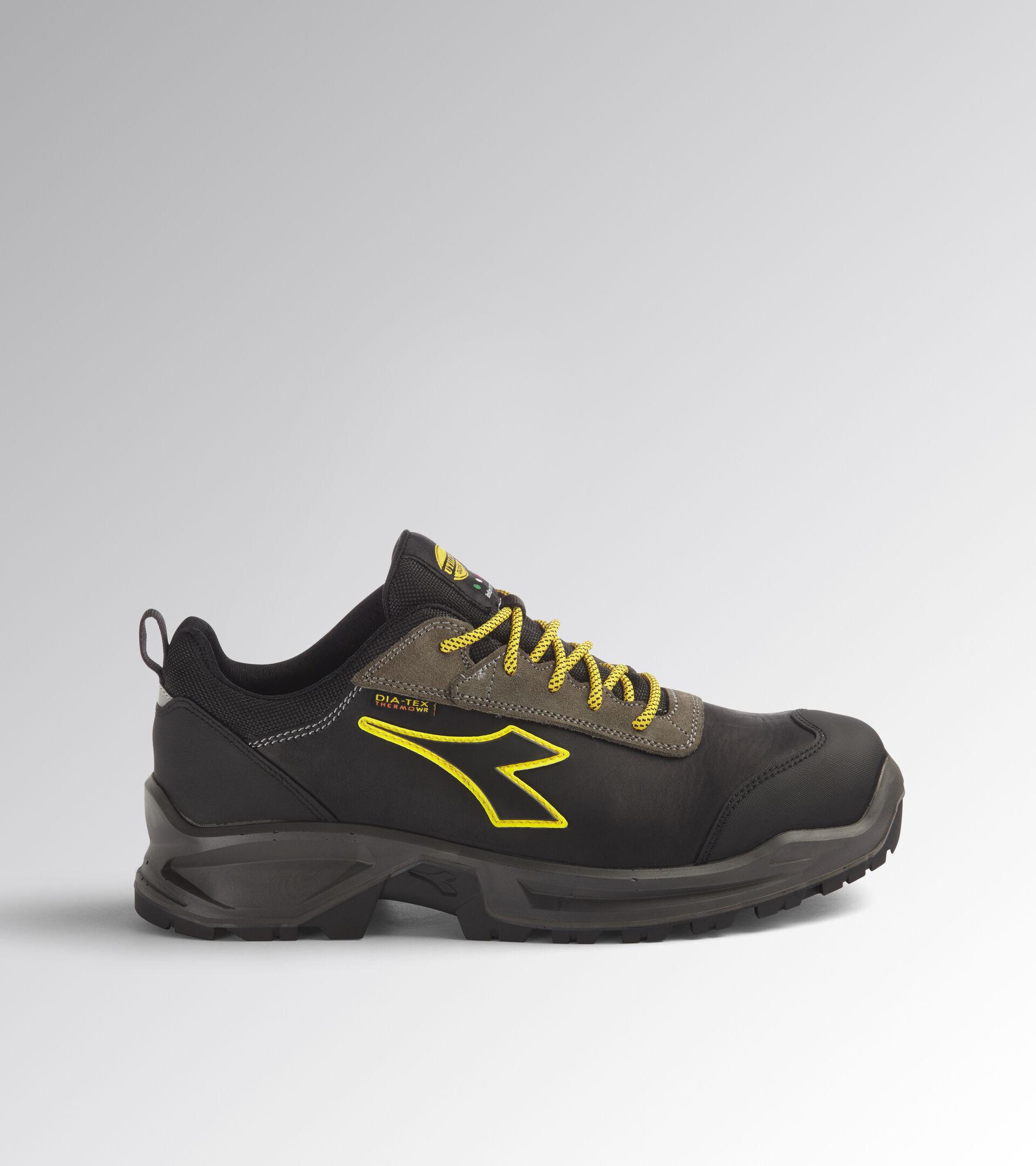 Footwear Utility UNISEX SPORT DIATEX LOW S3 WR CI SRC BLACK/STEEL GRAY Utility