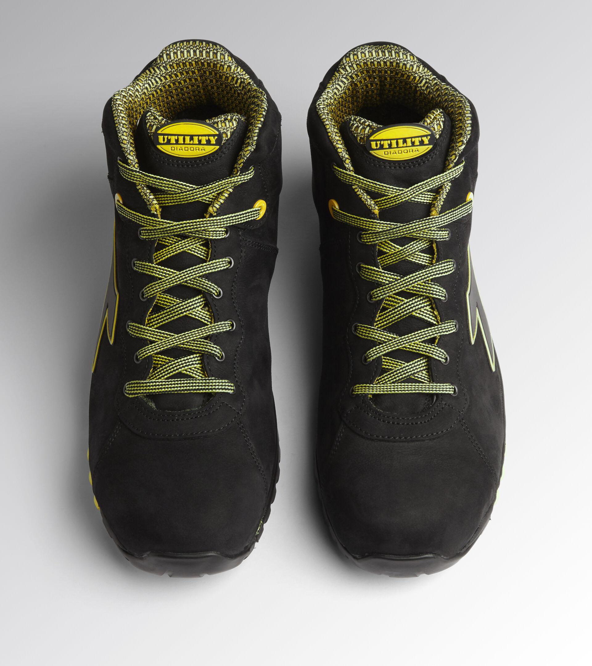 Footwear Utility UNISEX BEAT DA2 MID S3 HRO SRC BLACK Utility