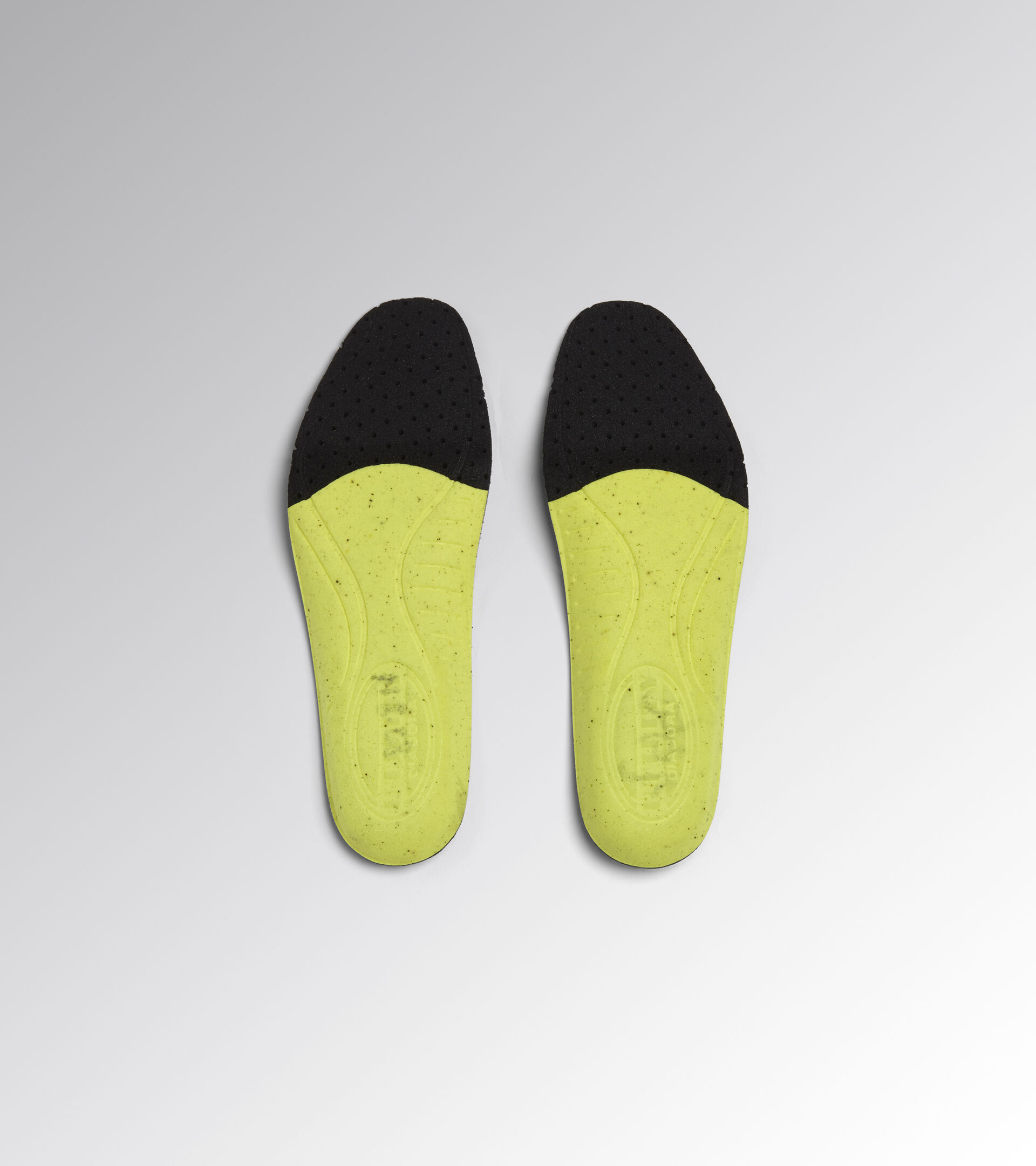 Insoles for Utility shoes INSOLE PLUS BLACK /YELLOW CROMS - Utility