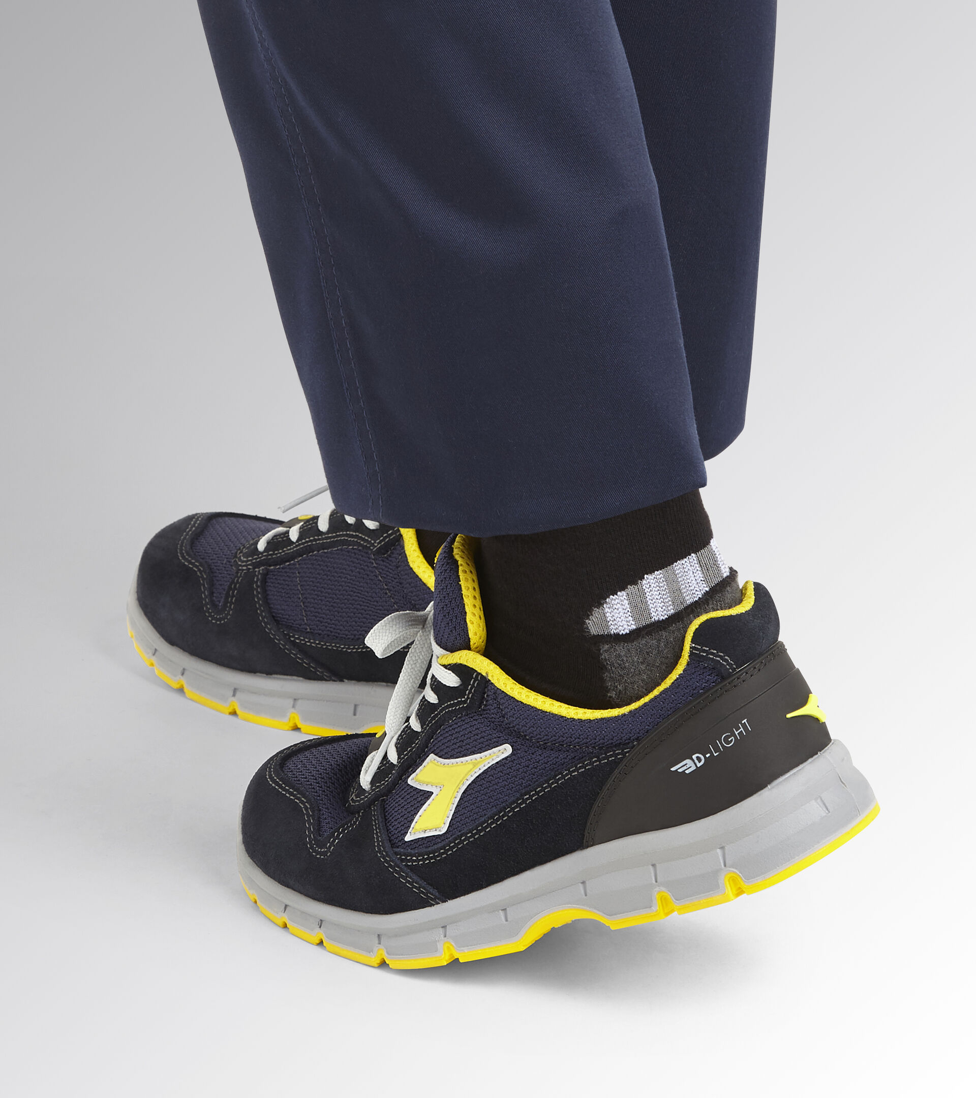 Footwear Utility UNISEX RUN TEXT LOW S1P SRC ESD DARK NAVY/DARK NAVY Utility