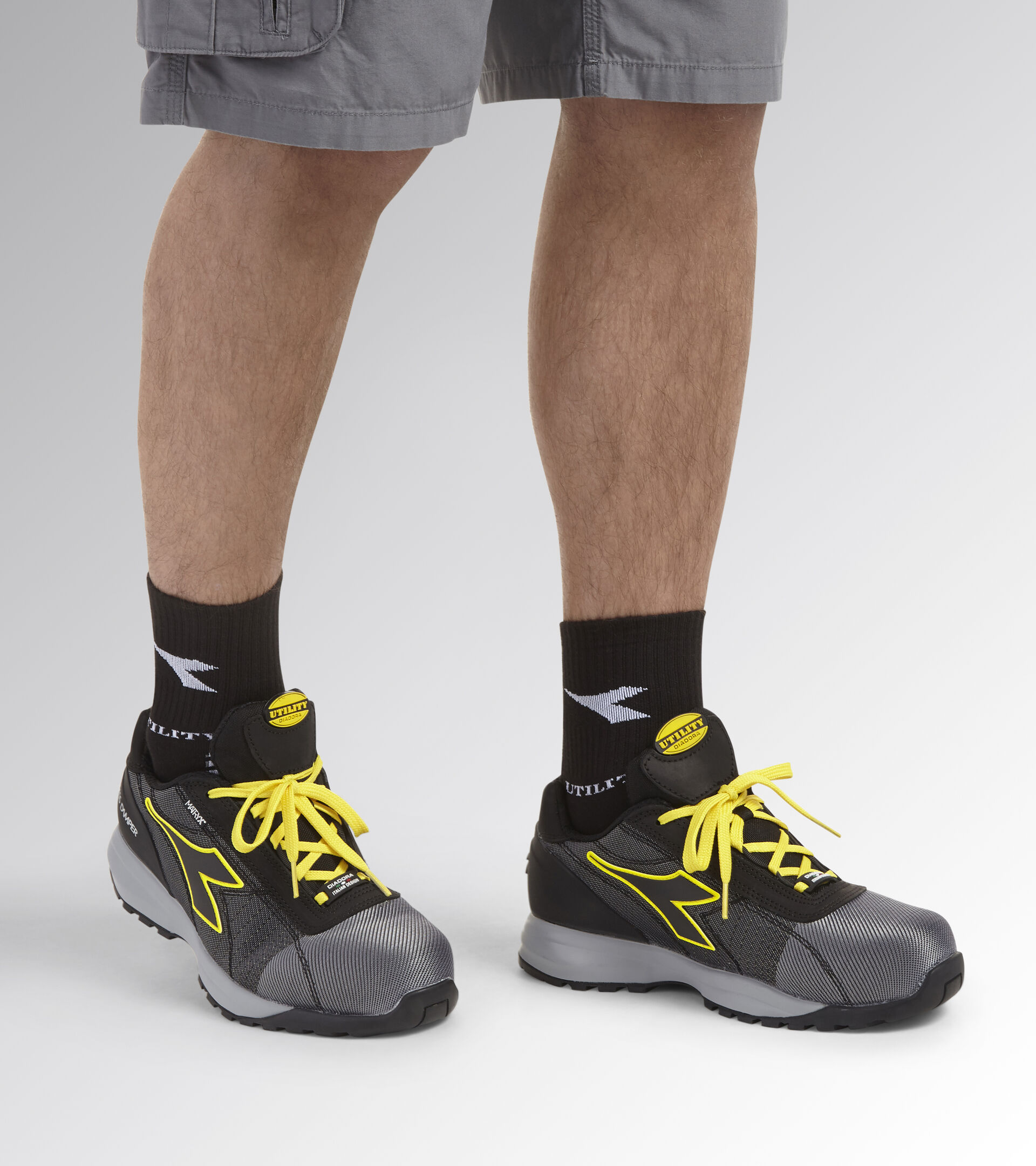 Footwear Utility UNISEX GLOVE MDS MATRYX LOW S3 HRO SRC GRAY/BLACK (C2539) Utility