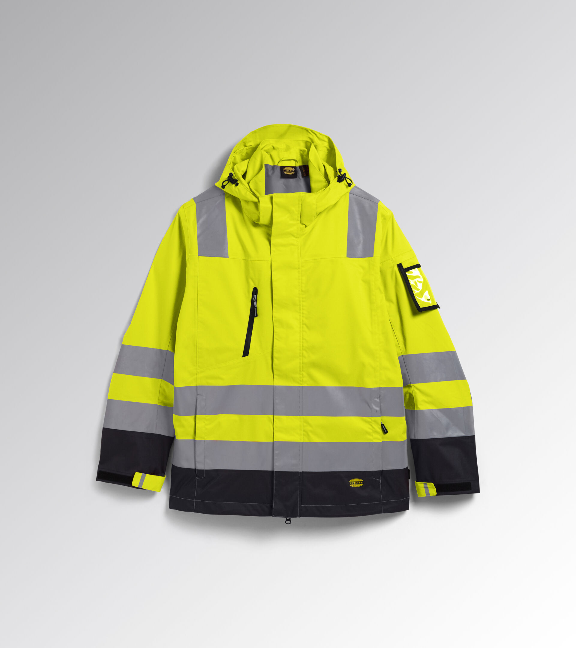 Apparel Utility UOMO HV JACKET ISO 20471 EXTERNAL SHELL FLUORESCENT YELLOW ISO20471 Utility