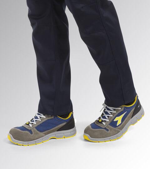 Footwear Utility UNISEX RUN TEXT LOW S1P SRC ESD CASTLE ROCK/INSIGNIA BLUE Utility