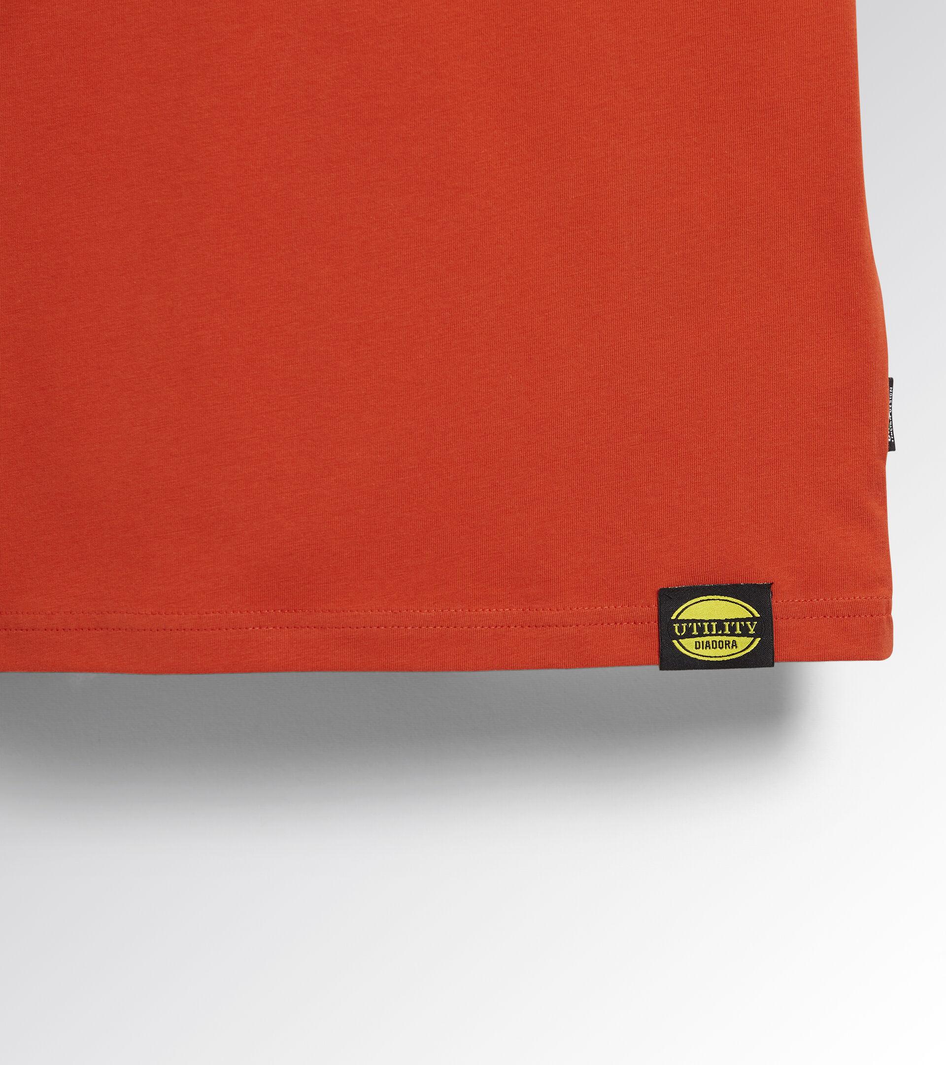 Apparel Utility UOMO T-SHIRT MC ATONY ORGANIC RED MEDLAR Utility