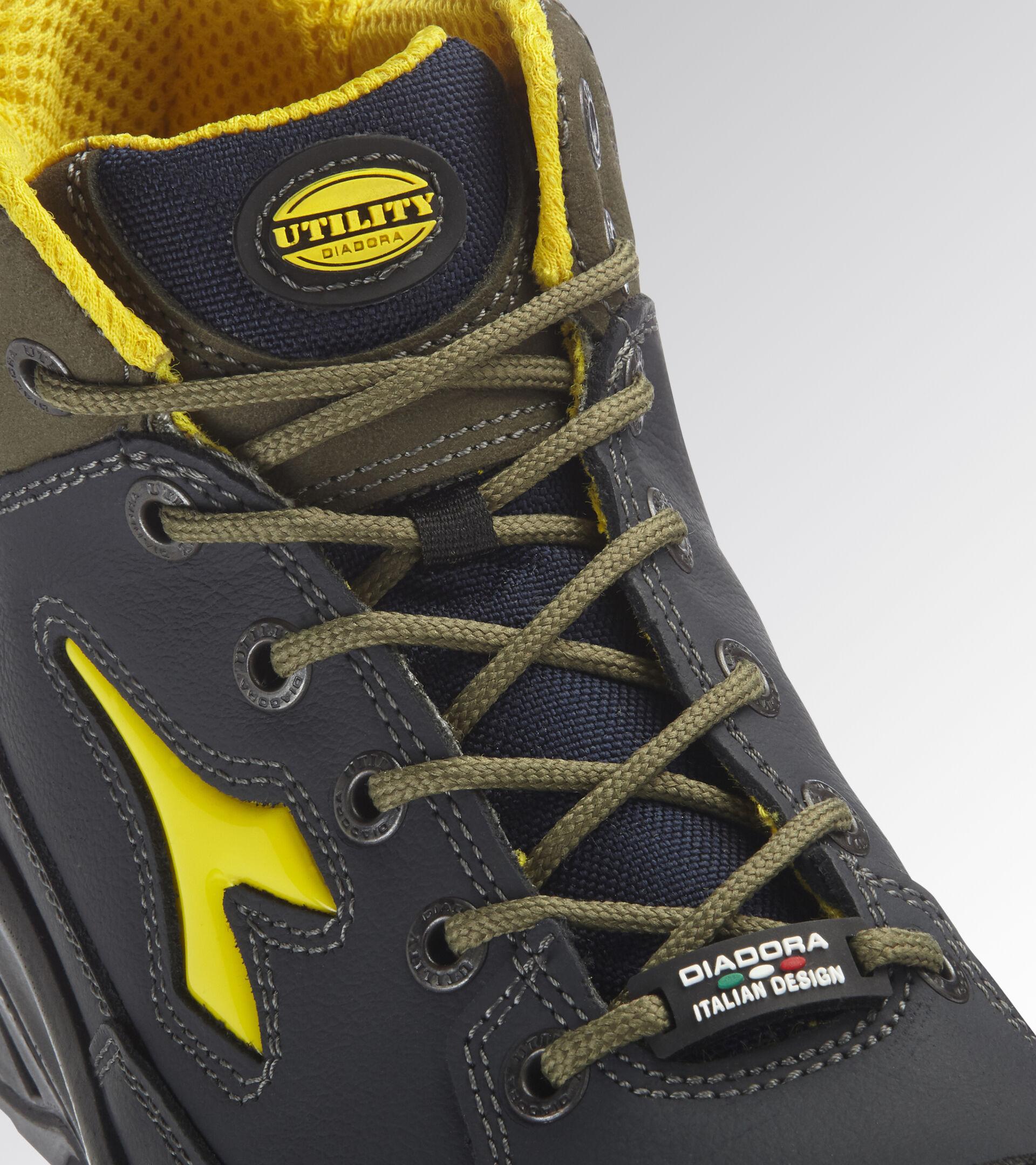 Footwear Utility UNISEX CONTINENTAL MID S3 SRC NAVY/GREEN CONIFER Utility