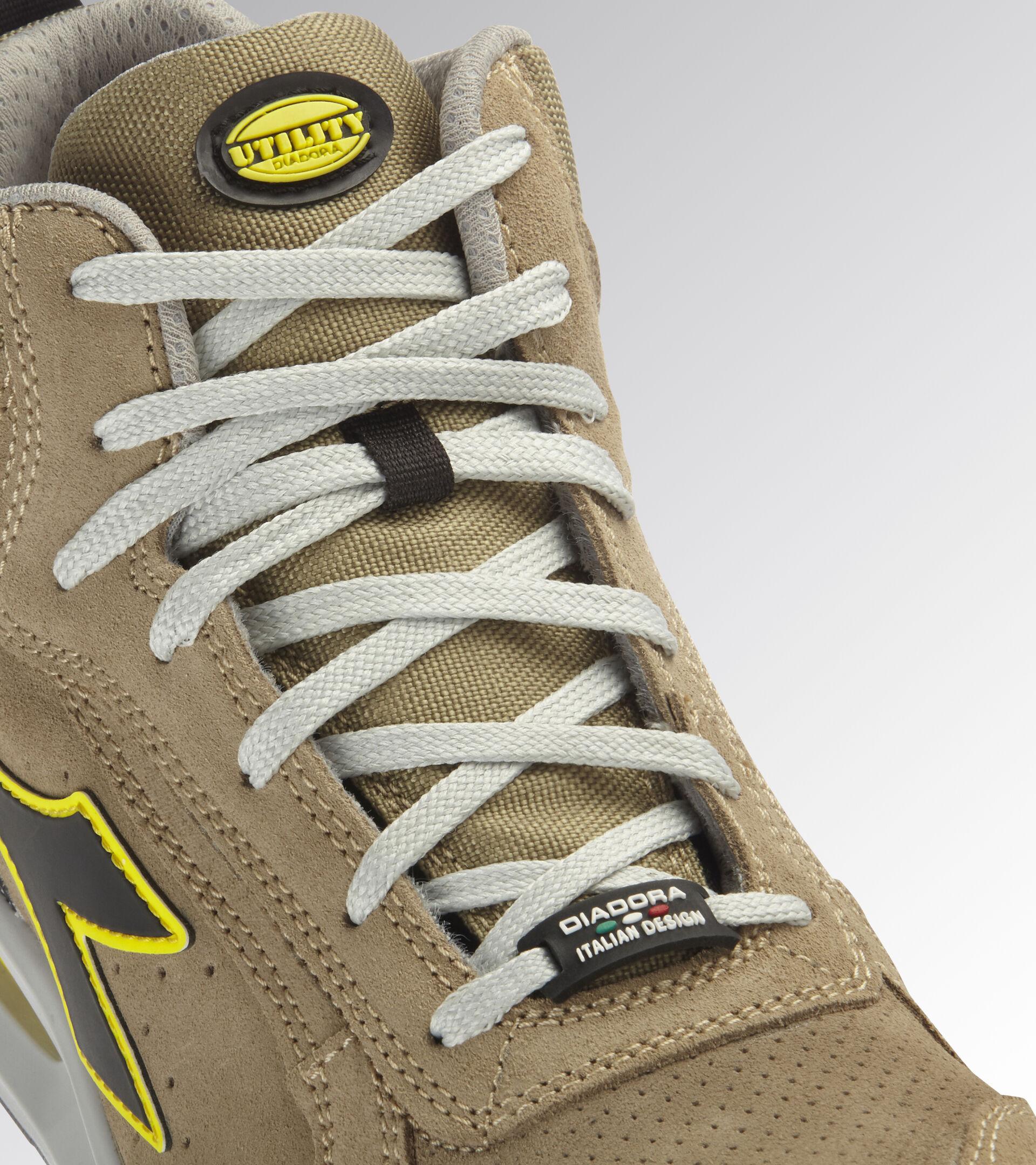 Footwear Utility UNISEX RUN NET AIRBOX MID S1P SRC MOON ROCK GRAY/MOON ROCK GRAY Utility