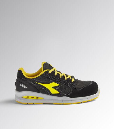 Footwear Utility UNISEX RUN NET AIRBOX LOW S1P SRC BLACK/ANTHRACITE Utility