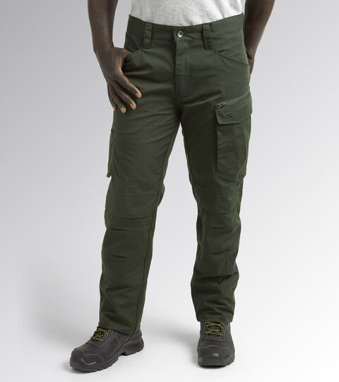 Apparel Utility UOMO PANT CROSS PERFORMANCE FOREST NIGHT Utility